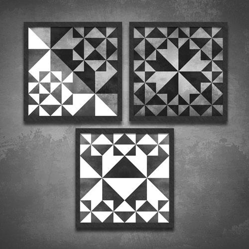 Concrete Triangles -Série Limitada