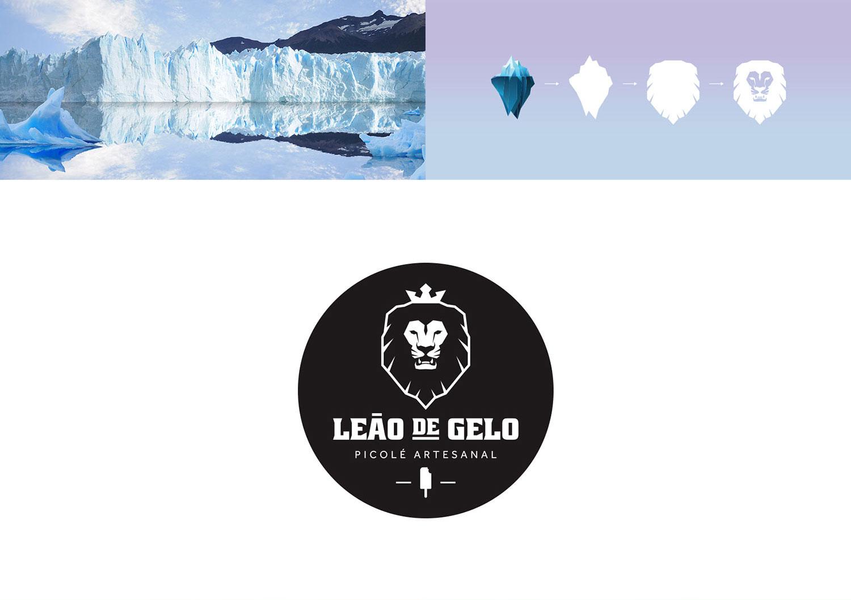 Leão de Gelo - Picolé Artesanal