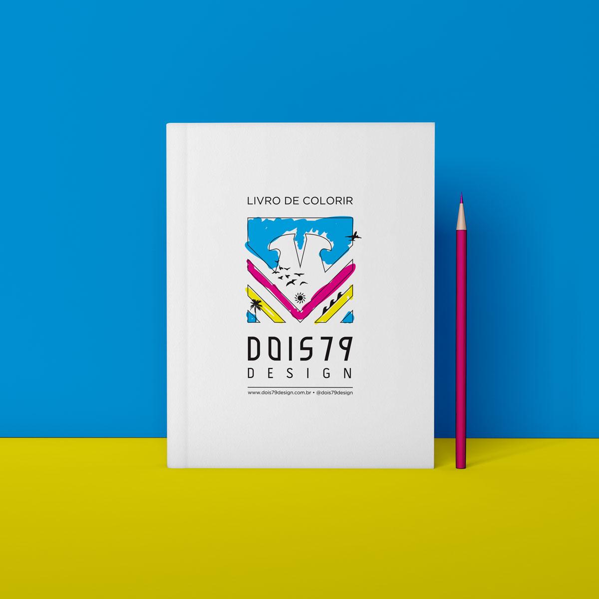 Livro de Colorir D79